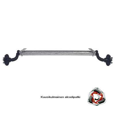 Akseli AL-KO WP 750 kg A1350 (vesitiivis 4x100 jarruton)