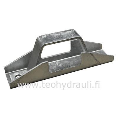 Aisan kiinnityslaippa zrv 8 (60 mm putkelle (ei sis pultit))