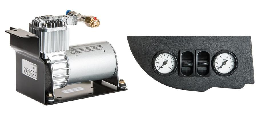 Air Top lisäilmajousisarjan kompressori ja ohjausyksikkö, AL-KO - Air Top lisäilmajousisarjan kompressori ja ohjausyksikkö