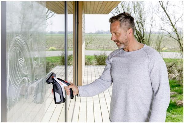Akkukäyttöinen lasinpyyhin GlassVAC, Bosch - Akkukäyttöinen lasinpyyhin GlassVAC