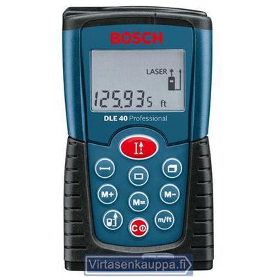 Laseretäisyysmittalaite, Bosch DLE40 - Laseretäisyysmittalaite DLE40