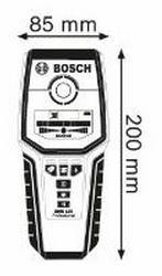 Rakenneilmaisin GMS 120, Bosch - Rakenneilmaisin GMS 120