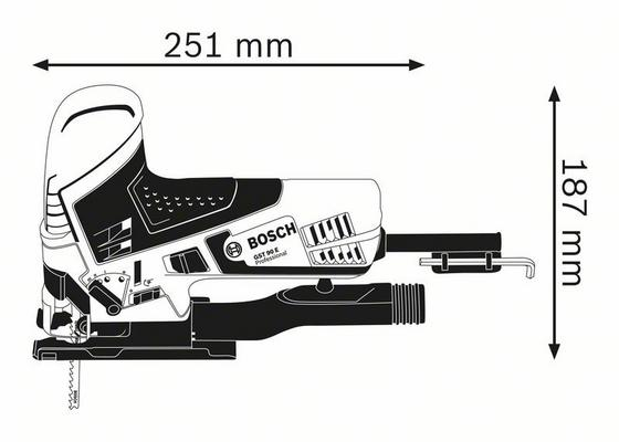 Pistosaha GST 90 E, Bosch - Pistosaha GST 90 E, Bosch