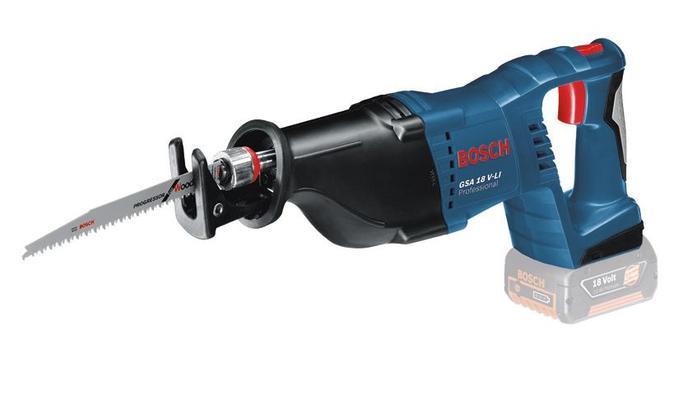 Akkupuukkosaha GSA 18 V-LI SOLO, Bosch - Akkupuukkosaha GSA 18 V-LI