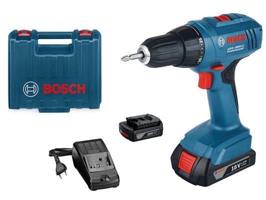 Akkuporakone GSR 1800-LI, Bosch - Akkupora GSR 1800 V-LI Professional