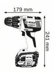 Akkuporakone GSR 18 V-EC + johdoton latausjärjestelmä, Bosch - Akkuporakone GSR 18 V-EC + johdoton latausjärjestelmä
