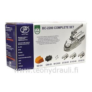 Yleiskuulakytkin 2200 kg ø50 (SPP BC-2200C+AD+ZM)