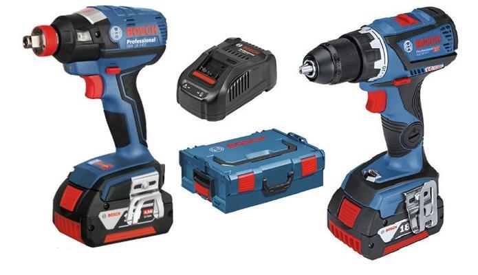 Akkukonepaketti GSR 18V-60C ja GDX 18V-EC, Bosch - Akkukonepaketti GSR 18V-60C ja GDX 18V-EC
