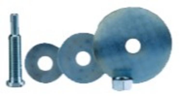 Kiinnityskara 100 mm puhdistuslaikalle, 3M