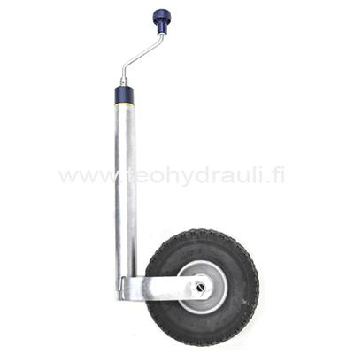 Nokkapyörä 150 kg aisavaaka (WW 260x85 ø48 ilmakumipyörä)