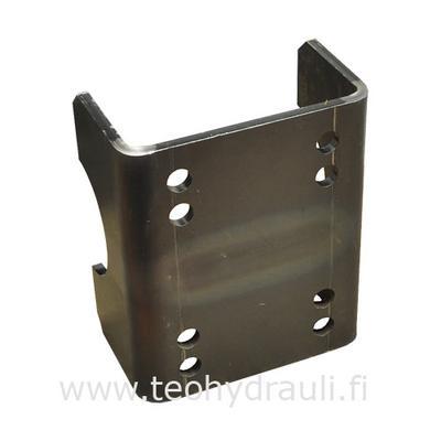 Kiinnike 70 mm hitsattava (Poraus 80 X 80/100/120)