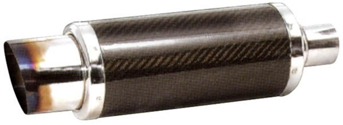 Pakoputken vaimennin Ø130 mm, Mufflex Sport