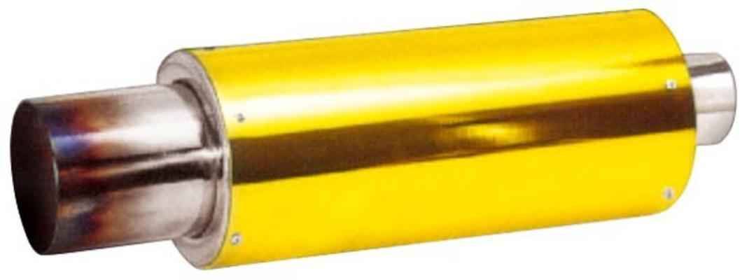 Pakoputken vaimennin Ø127 mm, Mufflex Sport