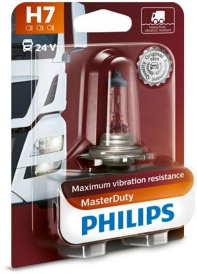 Ajovalopolttimo, Masterduty (H7), Philips