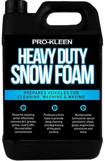 Vaahtopesuaine Heavy Duty Snow Foam, Pro-Kleen