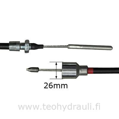 Jarruvaijeri 1020 AL-KO BPW RST (holkki: 23 / 26 mm M8 / M12x1.5)