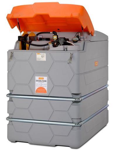 Polttoainesäiliö Cube Premium 2500 l, Cemo - Polttoainesäiliö Cube Premium 2500 l