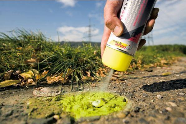 Merkintämaali Spotmarker (fluoresentti väri) - Colormark - Merkintämaali, keltainen