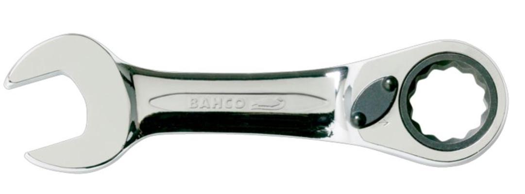 Lyhyt räikkäkiintoavain, Bahco - Räikkäkiintoavain 14 mm