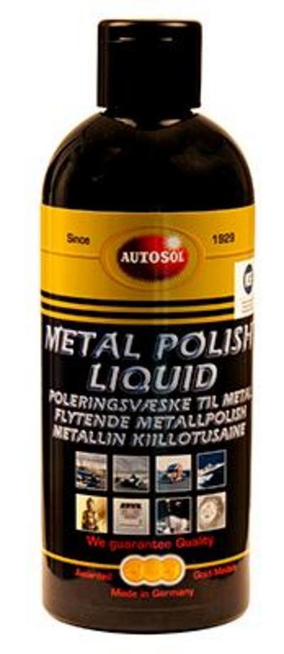 Kiillotusneste metallille 250 ml, Autosol - Kiillotusneste metallille 250 ml, Autosol