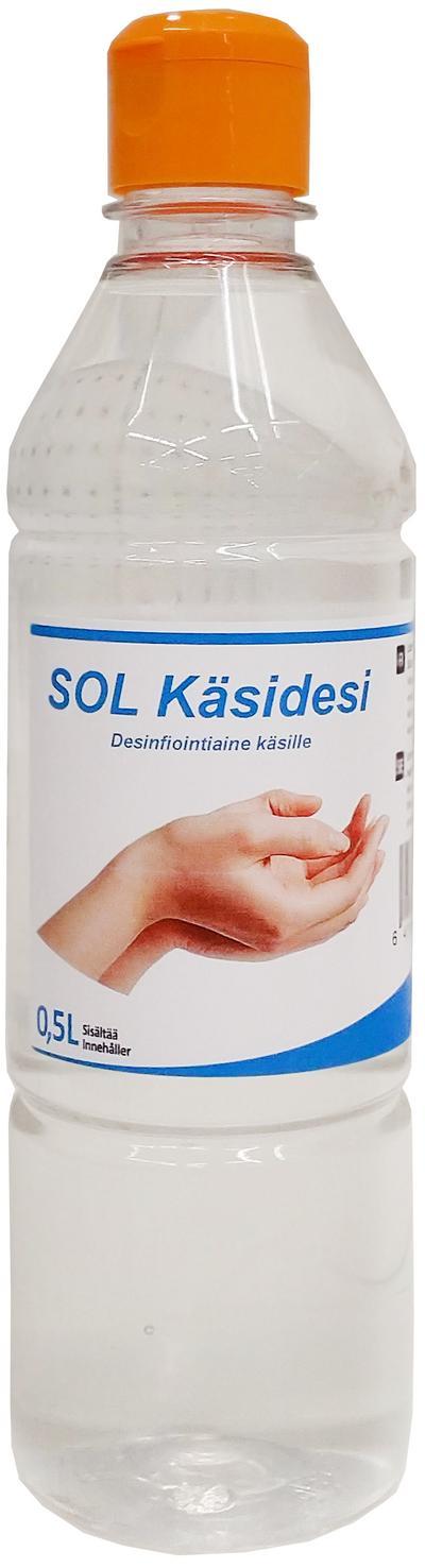 Käsidesi (0,5 l), SOL