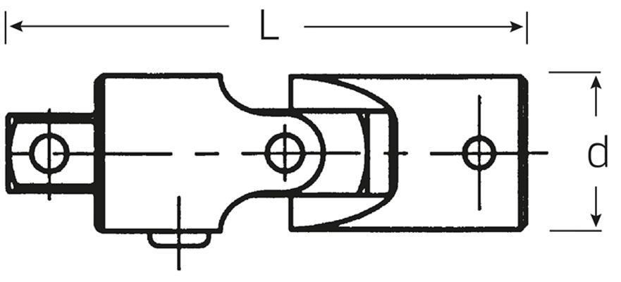 """Nivel QR 1/4"""", Stahlwille 407QR - Nivel QR 1/4"""""""