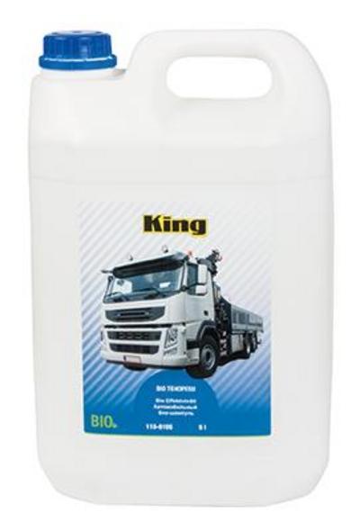 Bio pesuaine raskaalle kalustolle 5 l, King Pro Tools - Bio tehopesu tiiviste 5 l, King Pro Tools