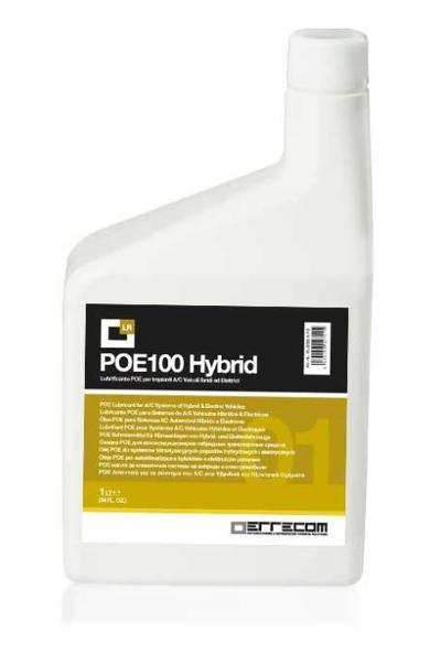Ilmastointijärjestelmän voiteluöljy POE 100 Hybrid, Errecom - Ilmastointijärjestelmän voiteluöljy, 1000 ml