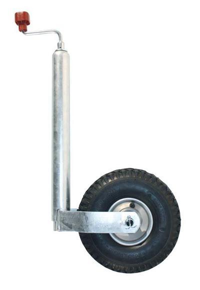 Nokkapyörä 260x85, ilmakumipyörä, peltivanne, Ø 48 mm, AL-KO - Nokkapyörä 260x85, ilmakumipyörä, peltivanne, Ø 48 mm