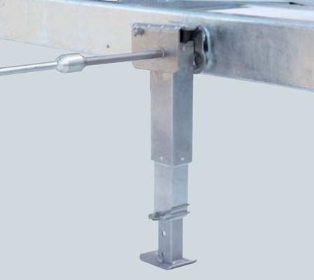 Tukijalkapari Click Fix (420-624 mm), AL-KO - Tukijalkapari Click Fix (420-624 mm)