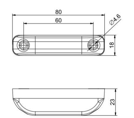 Led-takaäärivalo 12-30 V, Valeryd - Led-takaäärivalo 12-30 V