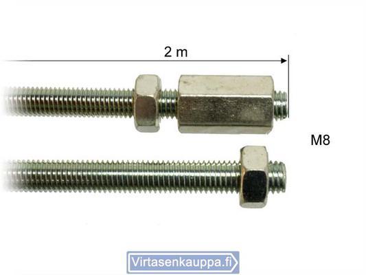 Jarrutanko 2m, M8 - Valeryd - Jarrutanko 2m, M8