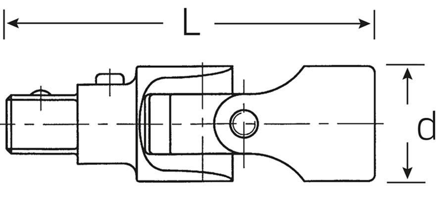"""Nivel 1/2"""", Stahlwille 510QR - Nivel 1/2"""" QR"""