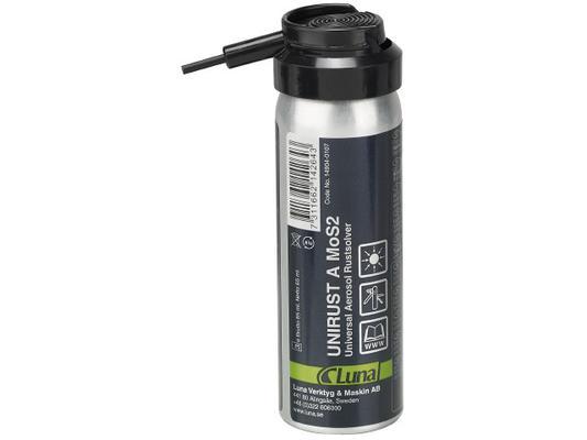 Yleisspray - ruosteenirrottaja Unirust A MoS2, Luna - Ruosteenirrottaja, 65 ml
