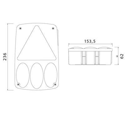 Aspöck Earpoint 4 8-napainen vasen (24-4755-007)