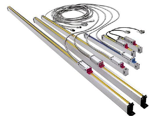 Viivoitin 400 mm, digitaalinen mittausjärjestelmä Limit - Viivoitin 400 mm