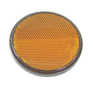 Radex tarraheijastin keltainen 80 mm (731 tarrakiinnitys)