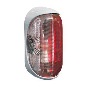 Äärivalo puna-valkoinen, harmaalla kiinnikkeellä, Jokon - Äärivalo puna-valkoinen, harmaalla kiinnikkeellä