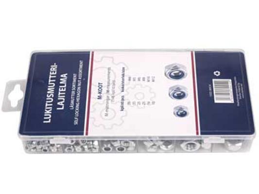 Lukitusmutterilajitelma (146 kpl) - Lukitusmutterilajitelma (146 kpl)