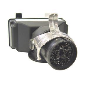 Perävaunuadapteri 15-napainen ->7N sekä 7S, 24 V - Perävaunuadapteri 15-napainen ->7N sekä 7S, 24 V