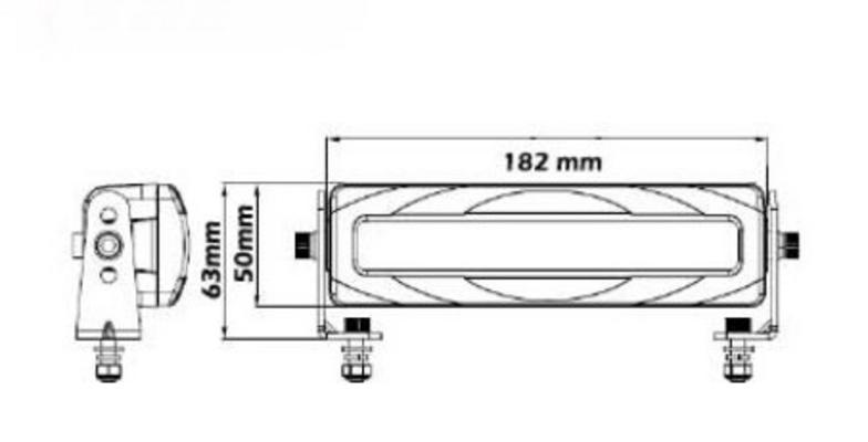Led-varoitusvalo trukkiin, SAE - Led-varoitusvalo trukkiin