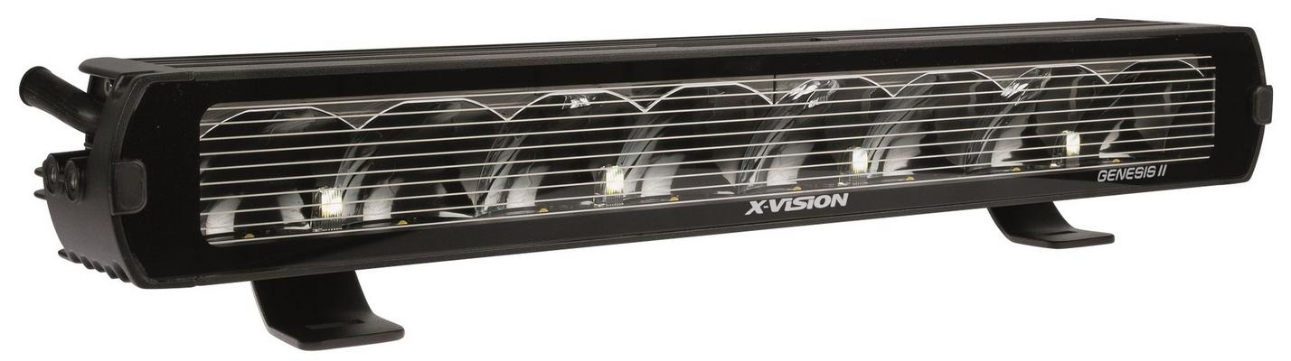 Led-lisävalo Genesis II 600 Spot beam HL - Suora | 54,8 cm | 6000 lm | Ref. 50, X-vision