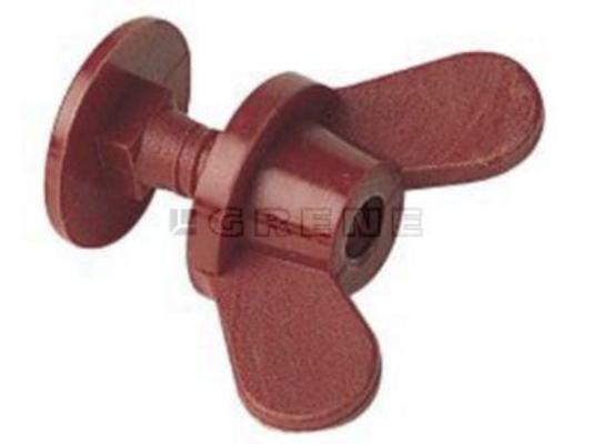 Pohjatulppa rehukaukalolle, 30 mm - Pohjatulppa rehukaukalolle