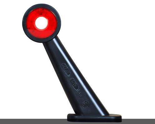 Led-äärivalo, puna-valkoinen (12-24 V), Was - Led-äärivalo, puna-valkoinen, oikea