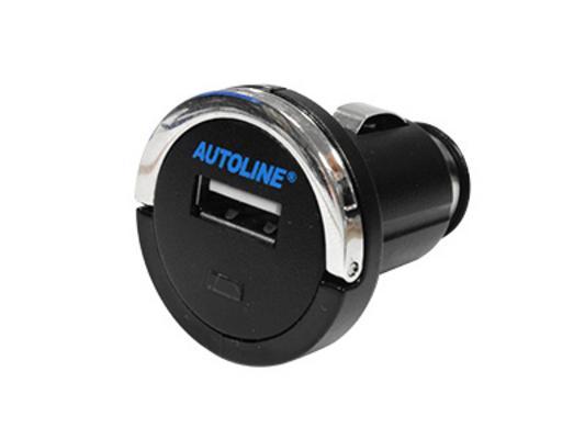 USB-autolaturi, 12 / 24 V, Mini 5 V / 1,2 A