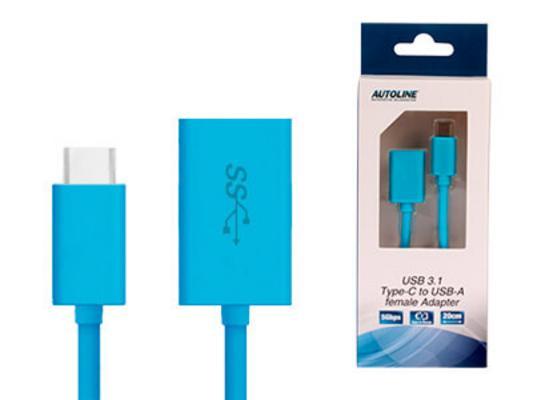 USB-C / USB-A adapteri, Autoline