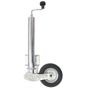 Nokkapyörä 250 kg taittuva  (WW 200x60 ø60 umpikumipyörä)
