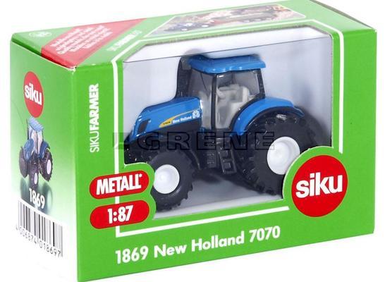 Pienoismalli New Holland T7070, Siku - Pienoismalli New Holland T7070 1:87