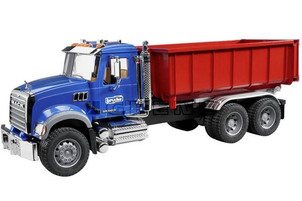 Mack Granite -kuorma-auto konttilavalla, Bruder - Mack Granite -kuorma-auto konttilavalla