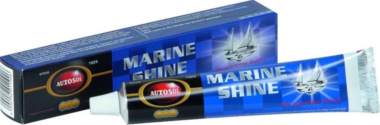 Kiillotus- ja puhdistusaine Marine Shine, Autosol - Kiillotus- ja puhdistusaine Marine Shine, 75 ml